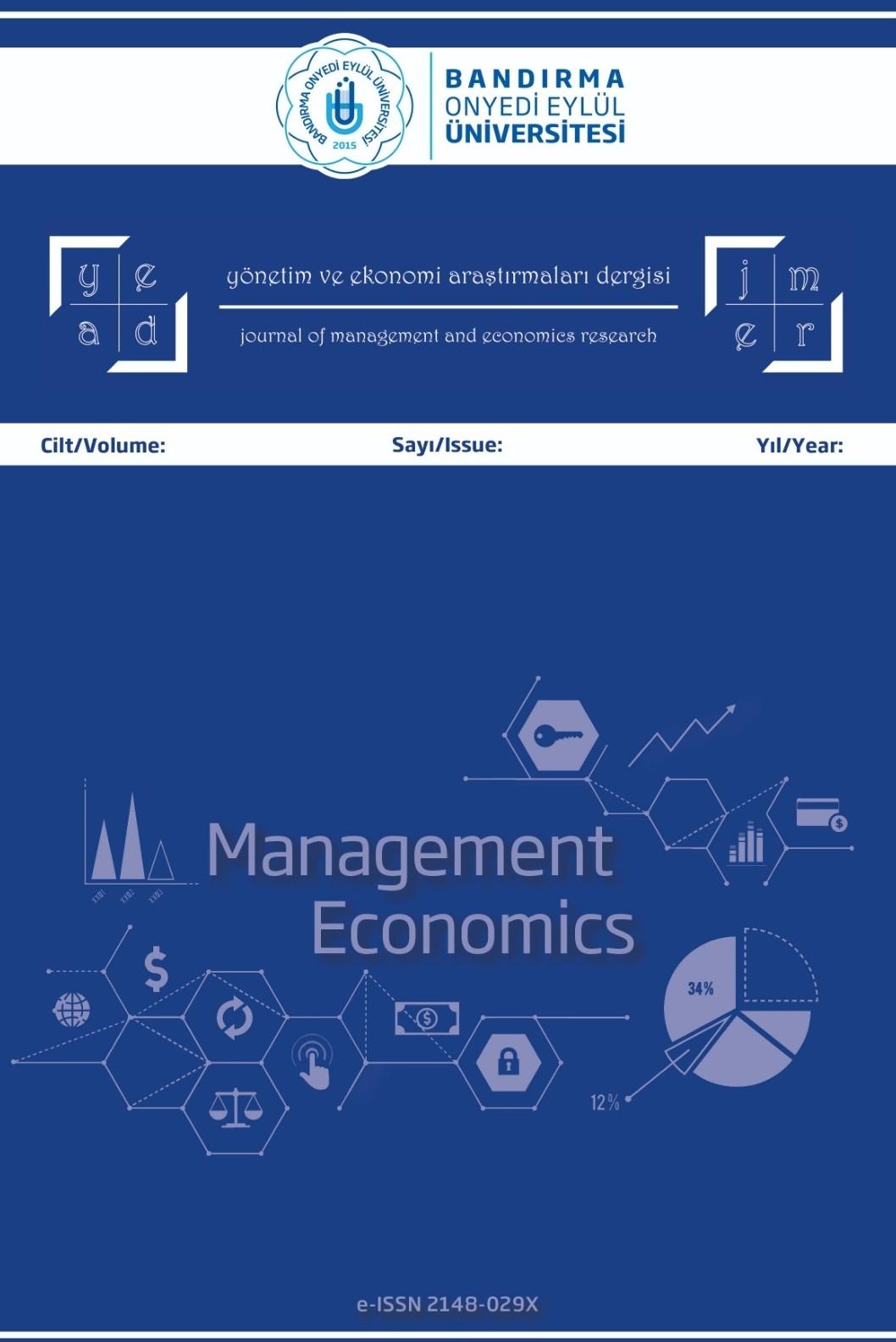 Yönetim ve Ekonomi Araştırmaları Dergisi