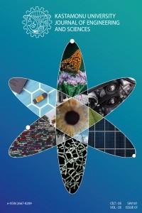 Kastamonu Üniversitesi Mühendislik ve Fen Bilimleri Dergisi