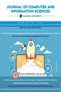 Sakarya University Journal of Computer and Information Sciences